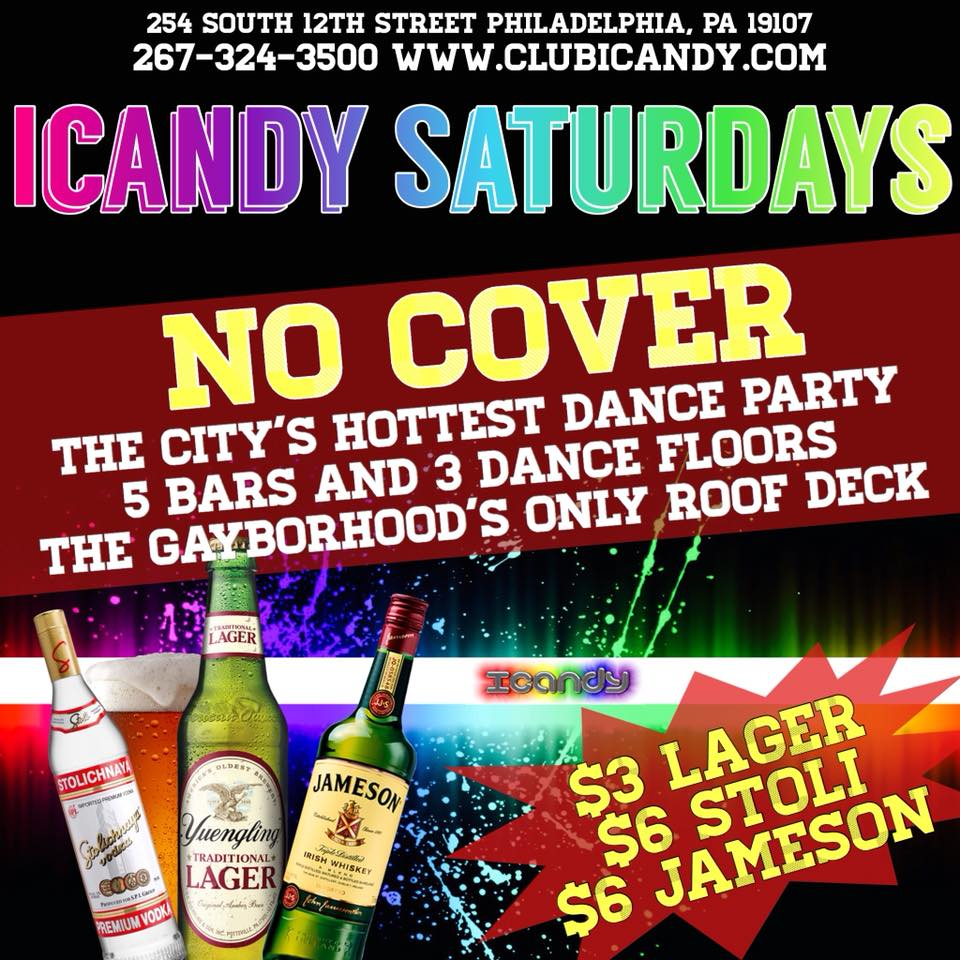 skin saturday at club icandy!